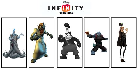 disney infinity villians disney infinity figure idea villains by thefoxprince11