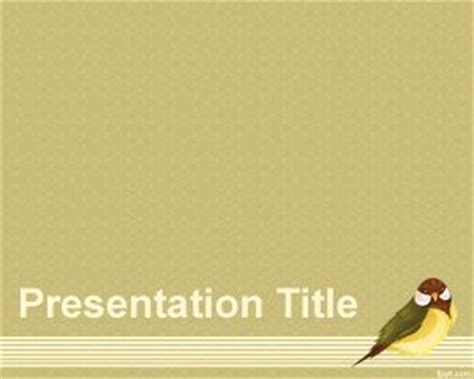 powerpoint themes free download birds free bird powerpoint templates
