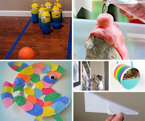 activities and crafts for indoor activities ideas birthday in a box