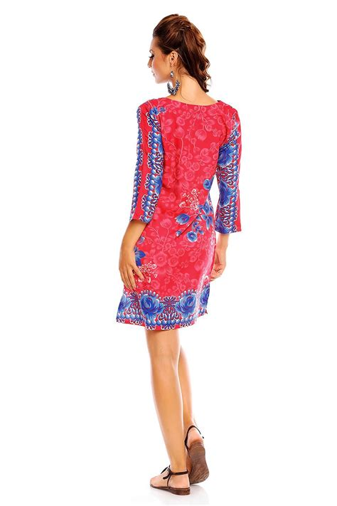 Nm Ir Nagita Kaftan Pink looking glam tribal print kaftan tunic summer top midi dress ebay