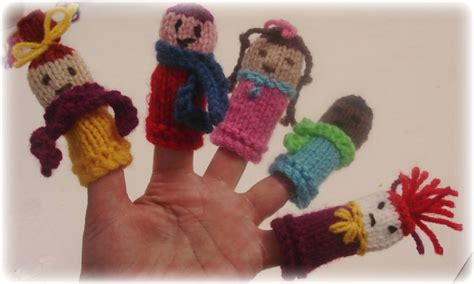free knitting patterns finger puppets finger puppets for all reasons