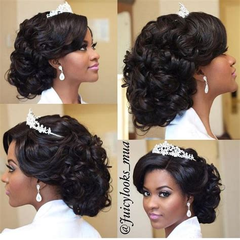 Wedding Hair For American Brides by Wedding Hairstyles For Black American
