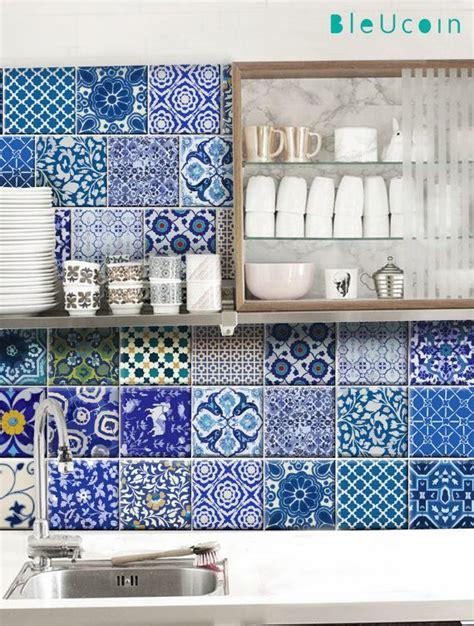 Rideau Bleu Pétrole 44 by Best 25 Blue Pottery Ideas On Broste
