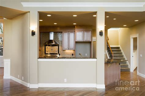 kitchen half wall ideas half wall between kitchen hallways and adjacent room living family room spaces