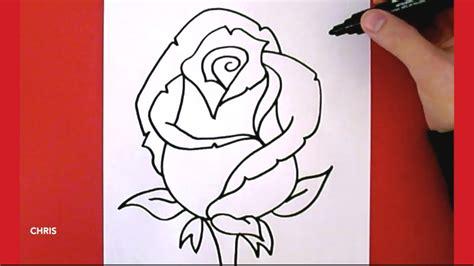 come disegnare fiori come disegnare una rosa chris disegna