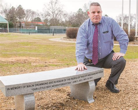 bench assistant never forgotten searcy park bench is a memorial to slain boy
