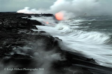 lava ocean entry boat tours hawaiian lava daily lava flow strong and stable from the