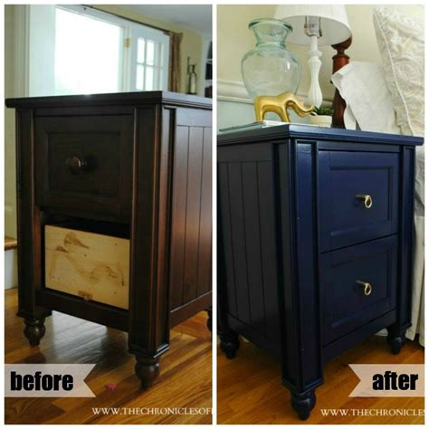 Navy Blue Nightstand by Navy Blue Nightstand A Front Entry Blue Nightstands
