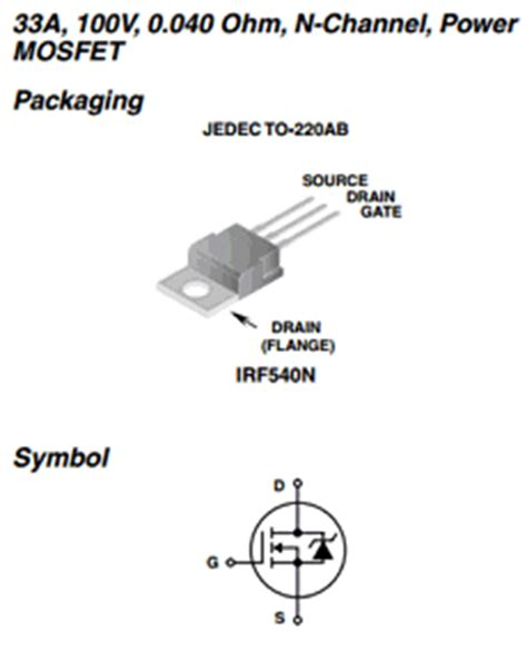 Irf540n Spice Model