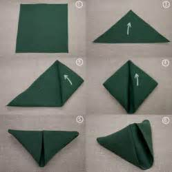 how to fold a table napkin photograph napkin folding