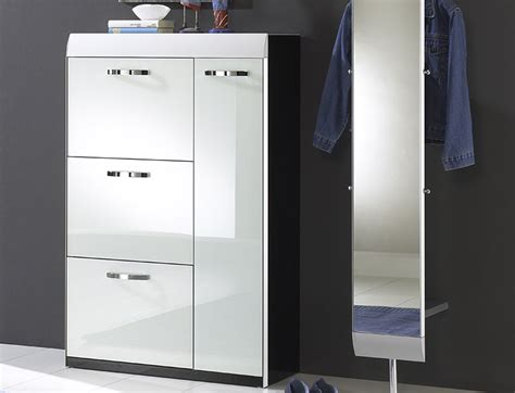 contemporary shoe storage orbit modern 4 door cabinet shoe storage in various finishes