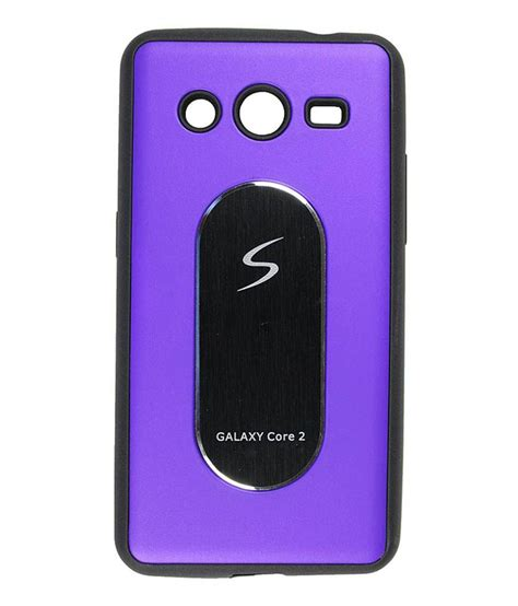 Samsung Core2 G355h Casing Hardcase ofm back cover cases for samsung galaxy 2 sm g355h purple buy ofm back cover cases
