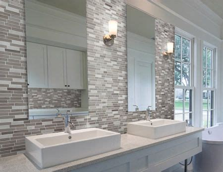 bathroom splashback ideas montage stone concepts tile ideas for kitchen