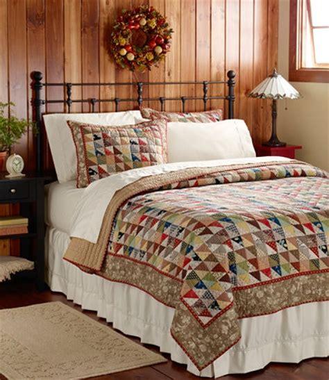 llbean bedding l l bean cider house quilt romantic home pinterest