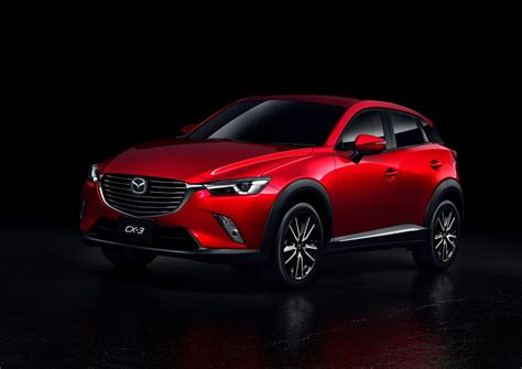 mazda crossover vehicles mazda cx 3 mps mazdaspeed crossover model rendered