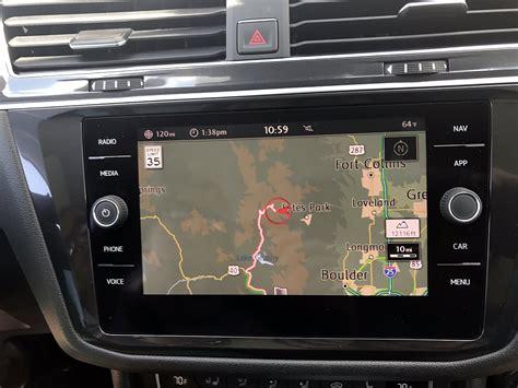 Vw Auto Navigationssystem by Volkswagen Tiguan Lang Gemacht