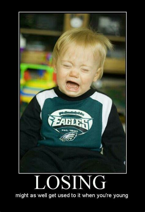 Funny Philadelphia Eagles Memes - eagles lose sports meme s pinterest football memes