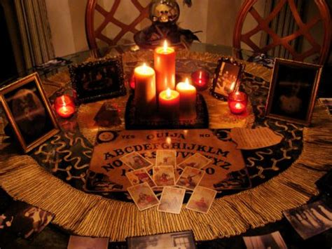 Fortune Teller Room by Decor Ouija Board Fortune Teller Cards