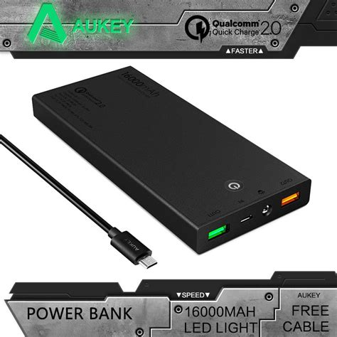 membuat power bank 9 v aukey portable quick charge 2 0 16000mah power bank mini