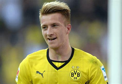 dortmund haircut german international marco reus wants dortmund stay