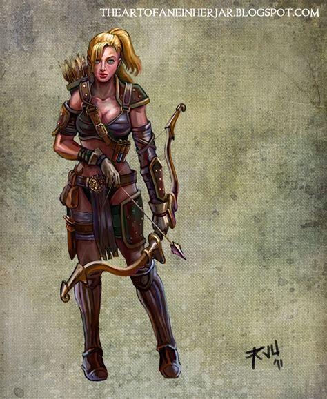 design expert warriors archer by einharjar on newgrounds