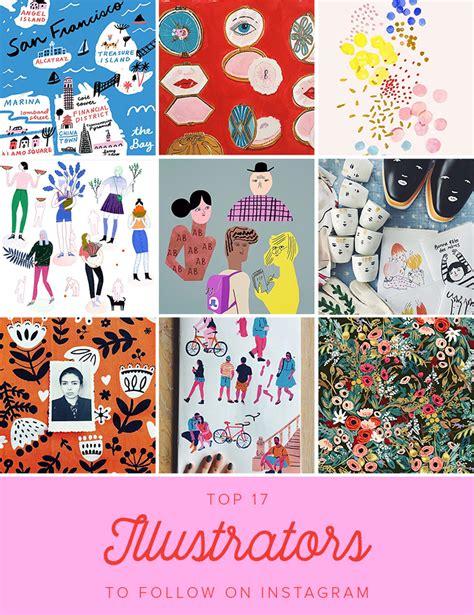 graphic design instagram tags 17 inspiring illustrators to follow on instagram the