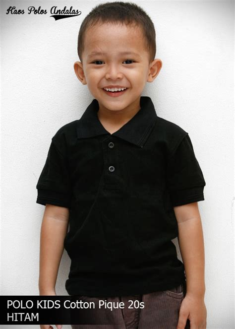 Polo Shirt Anak Anak Bordir by Polo Shirt Polos Anak Bahan Cotton Pique Tanpa Merek