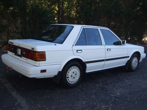 nissan stanza for sale 1987 nissan stanza gxe sedan 4 door 2 0l for sale photos
