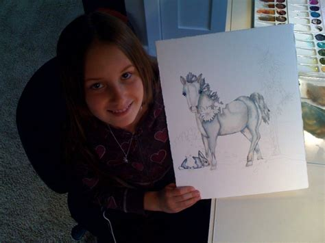 painting for 11 years a day with my student with drawing painting