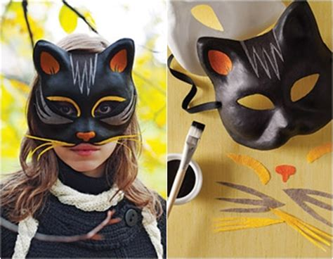 How To Make A Cat Mask Out Of Paper Plates - black cat 10 diy masks to make diy