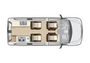 Floor Plans For Motorhomes mercedes vito camper van conversions auto sleepers