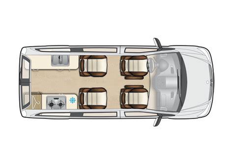 Ultimate Kitchen Floor Plans mercedes vito camper van conversions auto sleepers