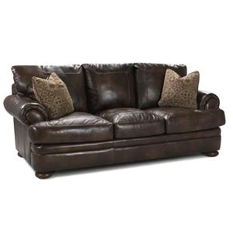 klaussner leather sectional klaussner montezuma leather studio sofa with rolled arms