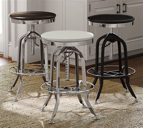 Bar Stool Pottery Barn by Mccoy Adjustable Barstool Pottery Barn