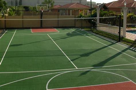 backyard basketball court backyard projects