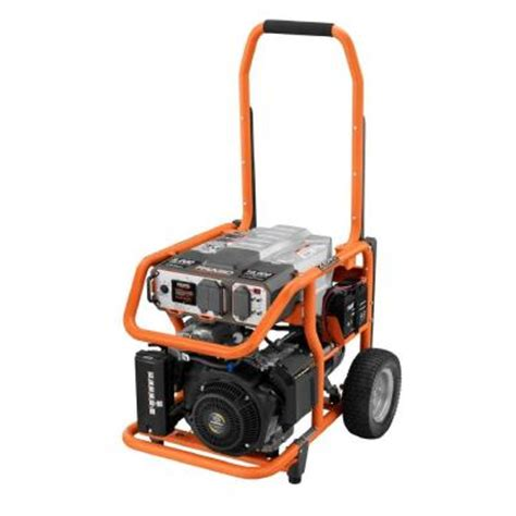 ridgid 8 000 watt gasoline powered portable generator with