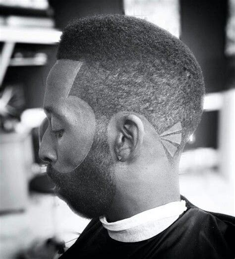 hairstyles for women with a sloped neck tye tribbett rocking the slope on a medium taper with the