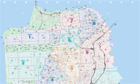 san francisco realtor map sense of san francisco s mls district map