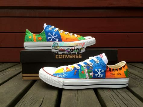 ed sheeran tattoo shoes for sale aliexpress com buy low top converse all star shoes ed