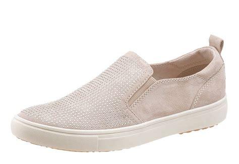 the slipper and the tamaris slipper mit sch 246 ner steinchenverzierung otto