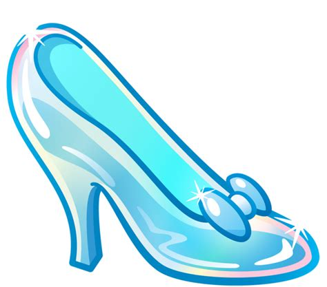 cinderellas slipper shoe clipart cinderella pencil and in color shoe clipart