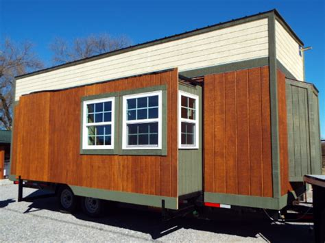 tiny house with slide out tiny by design tiny house swoon