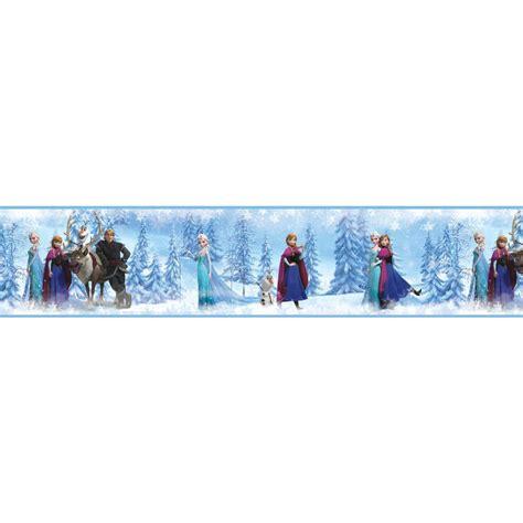 frozen wallpaper border disney frozen family border wall decals eonshoppee