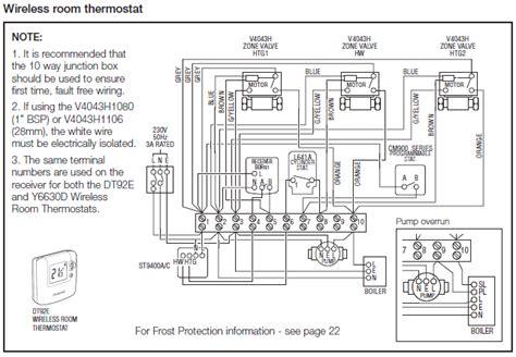 wiring diagram for central heating system wiring diagram