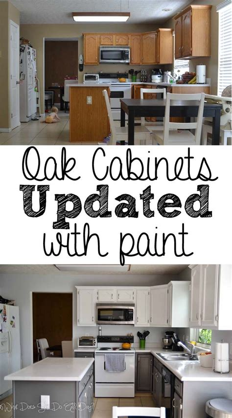 before and after kitchen cabinet painting painted kitchen cabinets before and after diy nice to see