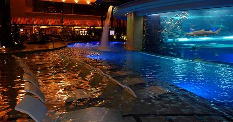 infinity aquarium design las vegas nv tank pool golden nugget las vegas
