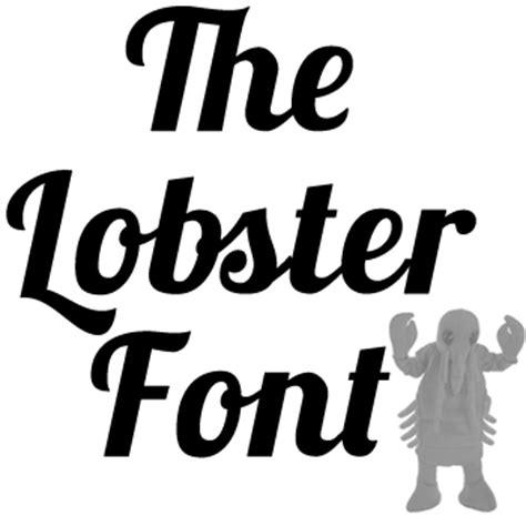dafont lobster image gallery lobster font