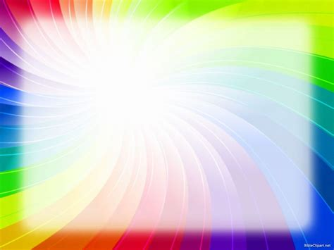 Rainbow Powerpoint Background Eievui Info Powerpoint Rainbow Template
