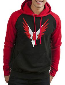 Hoodie Huk Redmerch maverick inspired logan paul merch hoodie you logang jumper ebay