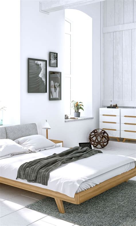 white modern bedroom furniture 25 best ideas about dresser bed on pinterest bed with 17853 | 509e51dfc6380f7b30a852159598b4d2